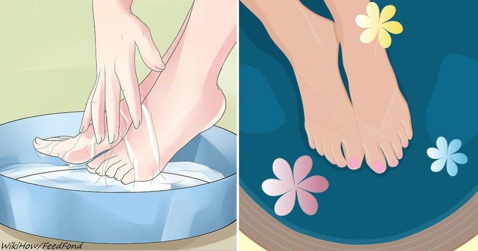 Почему надо хотя бы 2 раза в неделю делать себе ванну с содой для ног