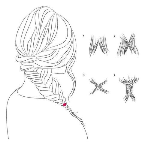 5 способов плетения модных кос