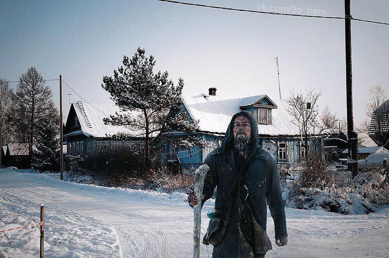 Художники поместили известных киношных персонажей в реалии российской действительности. Кто бы мог подумать, что они настолько хорошо туда впишутся