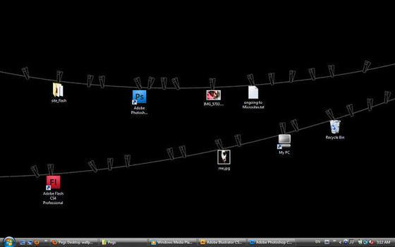 20 крутых фонов для рабочего стола, которые перевернут ваше представление о рабочих столах. Ножками вверх