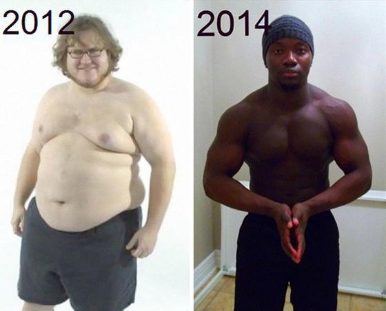 Прикольные картинки до и после похудения