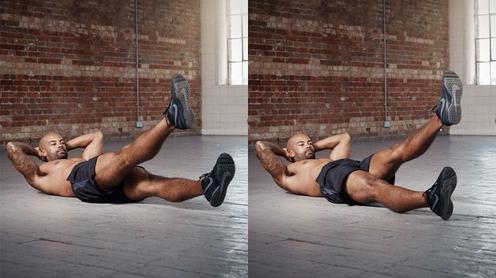 Вот 5 упражнений, чтобы через месяц на животе были все 6 кубиков! Шпаргалка для новичка.