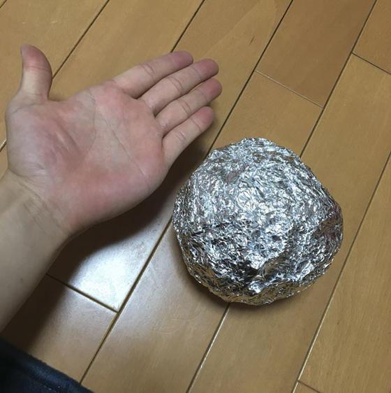 Только японцы могут делать ТАКОЕ из алюминиевой фольги! Потому что они с другой планеты!