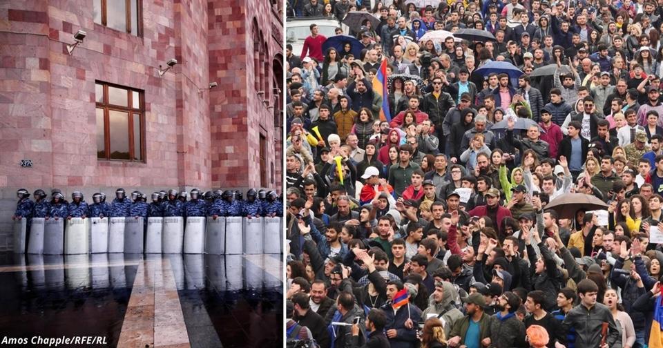 Армянская революция закончилась! Вот самые сильные фото Вам понравится.