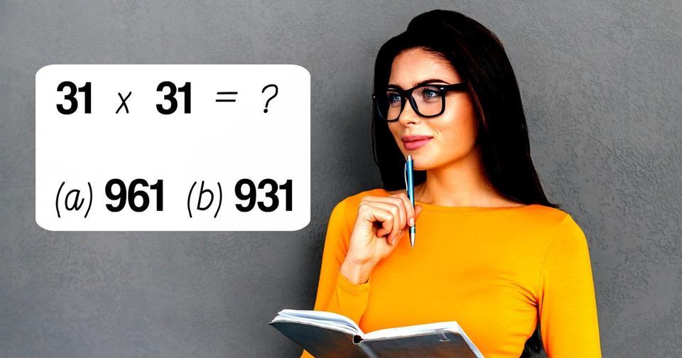 Только 3% людей могут пройти тест из 31 вопроса по математике!