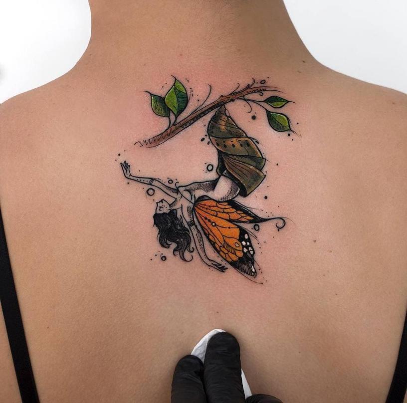 20 идей татуировок для тех, у кого в душе всегда весна