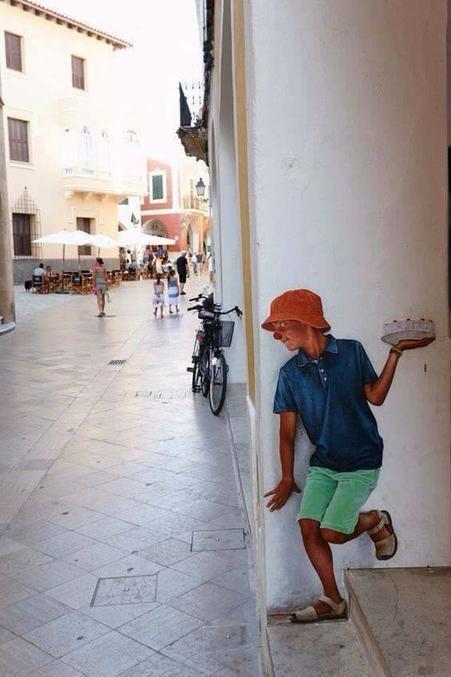 19 раз, когда кто-то нарисовал на улице настоящее волшебство И никакого фотошопа!