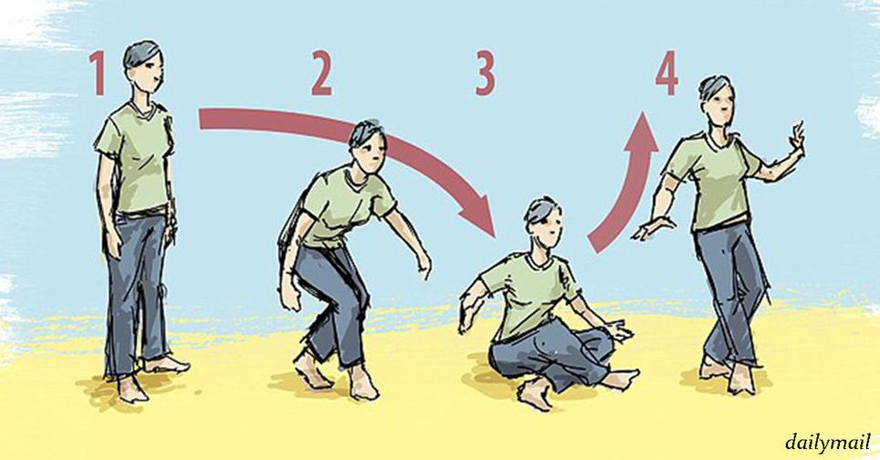 Вот одно единственное упражнение, чтобы узнать, сколько лет вы еще проживете Что может быть проще?
