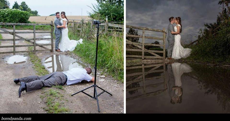Вот 20 доказательств, что свадебные фотографы – сумасшедшие люди! Когда слишком сильно любишь свою работу...