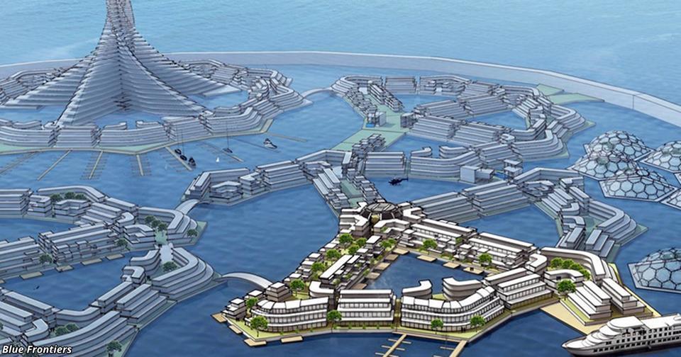 Первое в мире ″государство на воде″ появится в 2022 году! И оно будет абсолютно свободным! Со своими правительством и валютой.