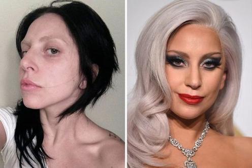 Как выглядят звёзды без макияжа