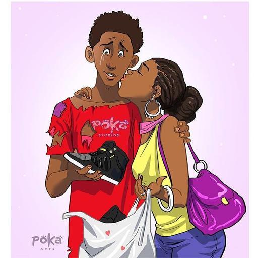 25 честных иллюстраций о том, как выглядит любовь сегодня Может, и себя узнаете.