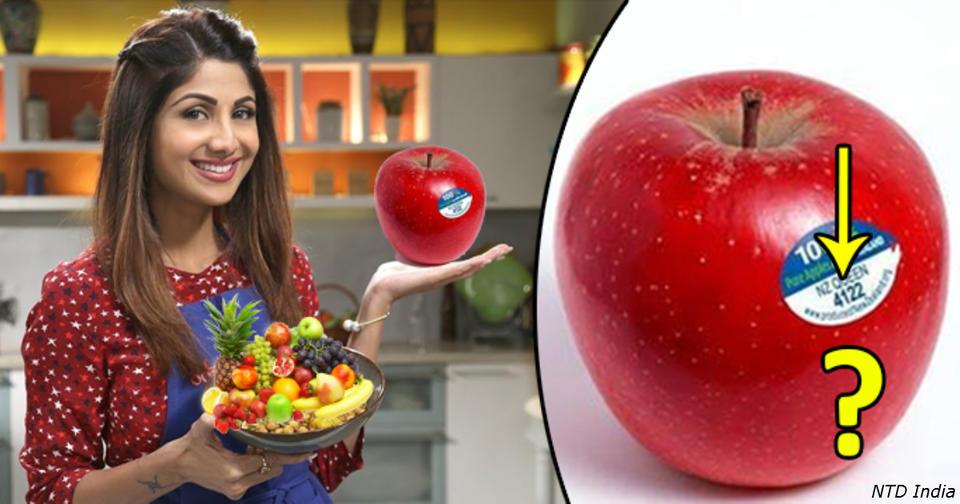 Если вы видите ″8″ на наклейке на фрукте, не покупайте его! Вот почему Надо знать. Ради собственного здоровья.