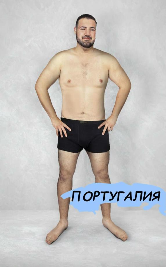 16 фото о том, почему в каждой стране свои стандарты красоты даже для мужчин! Любопытно.
