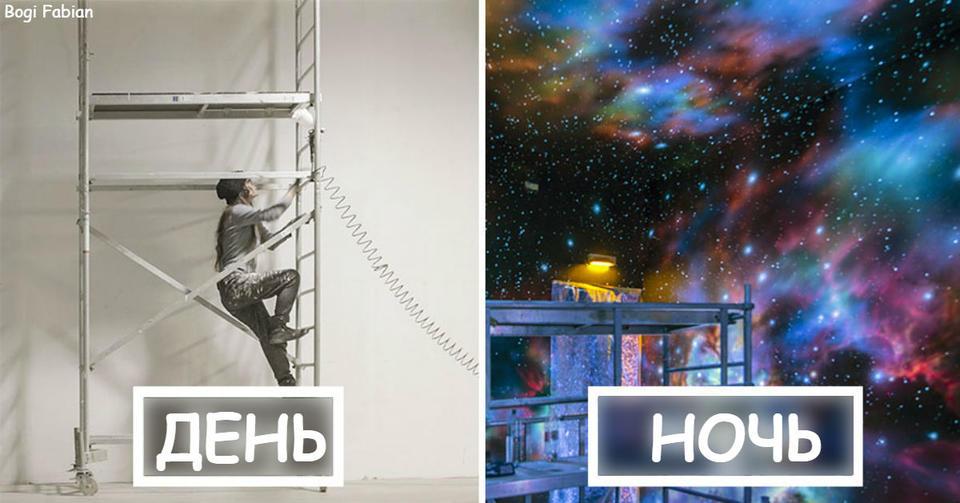 Когда приходит ночь, эти комнаты становятся совершенно другими Все детство мечтала о такой спальне