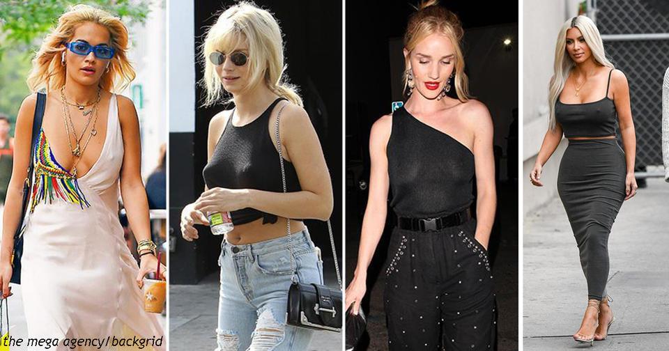 Вот почему во всем мире стало модно ходить без лифчика Вы   за? Или это слишком?