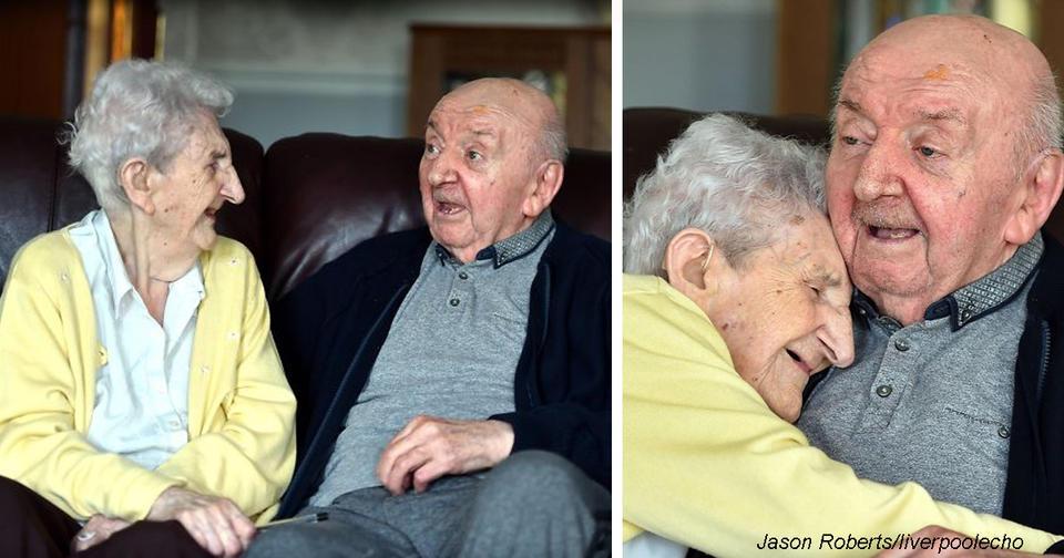 98-летняя мама переехала в дом престарелых, чтобы ухаживать за своим 80-летним сыном Потому что для нее он все равно ребенок...