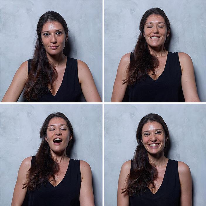 Вот женские лица ДО, во время и после оргазма. Потому что он имеет значение!.. Интересный эксперимент.