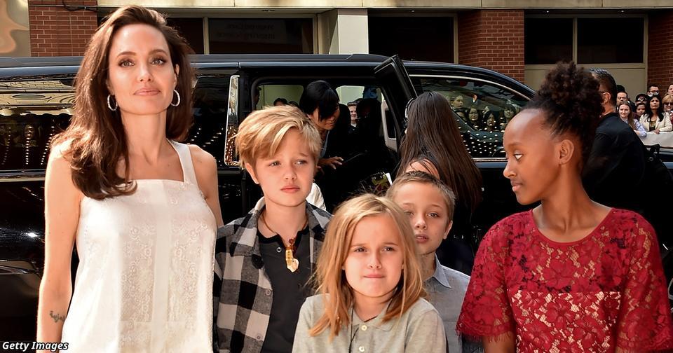 У Анджелины Джоли могут отобрать детей - и отдать их Брэду Питту! Вот почему Говорят, она - плохая мать.