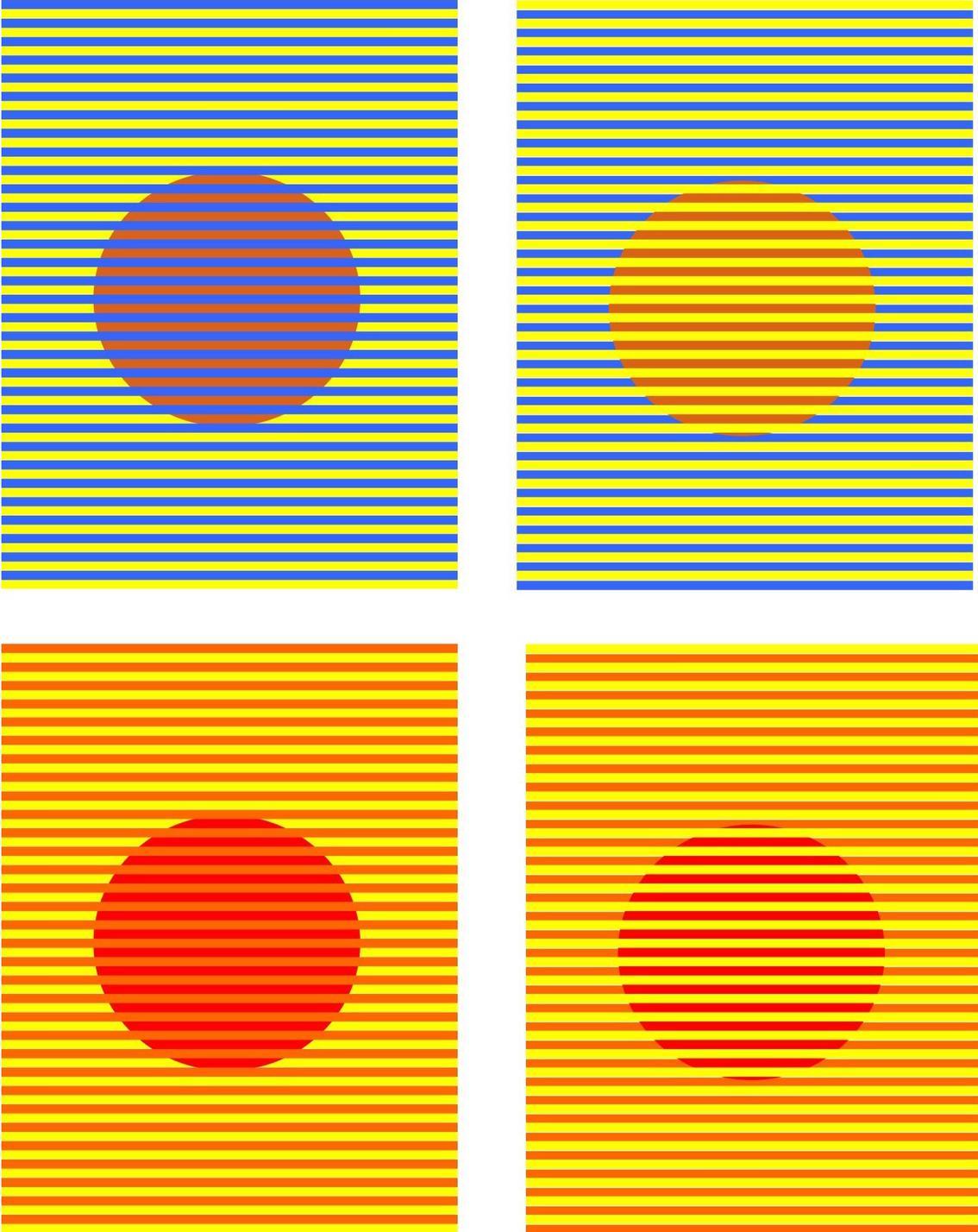 Вам тоже кажется, что эти круги - разных цветов? Представьте себе, это не так! Крутейшая иллюзия из Техаса.