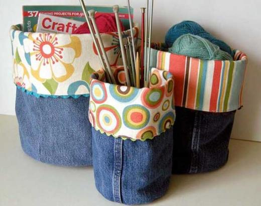 Вот 31 вещь, которую можно сделать со своими старыми джинсами. Не выбрасывайте! В мире и так слишком много вещей.