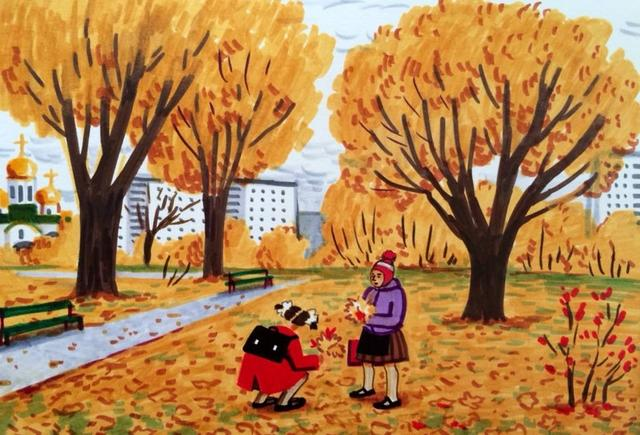 15-летняя советская девочка честно нарисовала, каким было ее детство в СССР Так всё и было!