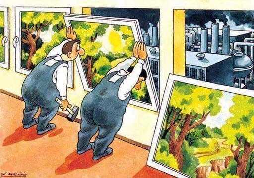 23 честных карикатуры о том, почему люди лишились остатков мозгов Сатира острая как бритва.