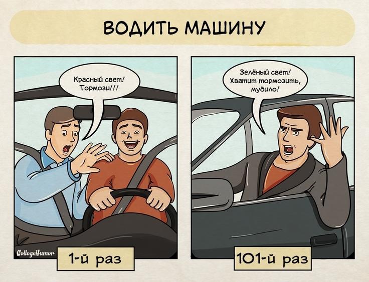 Картинки прикольные про вождение