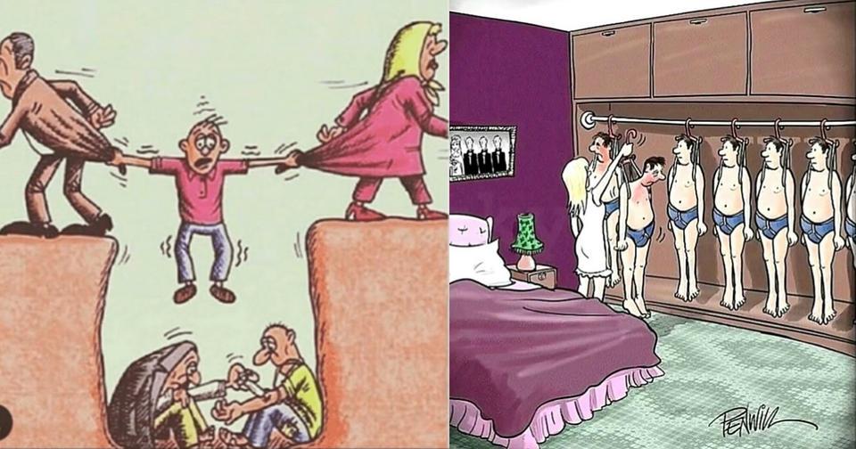 20 иллюстраций о том, насколько ужасна реальность современного общества Брутальная правда.