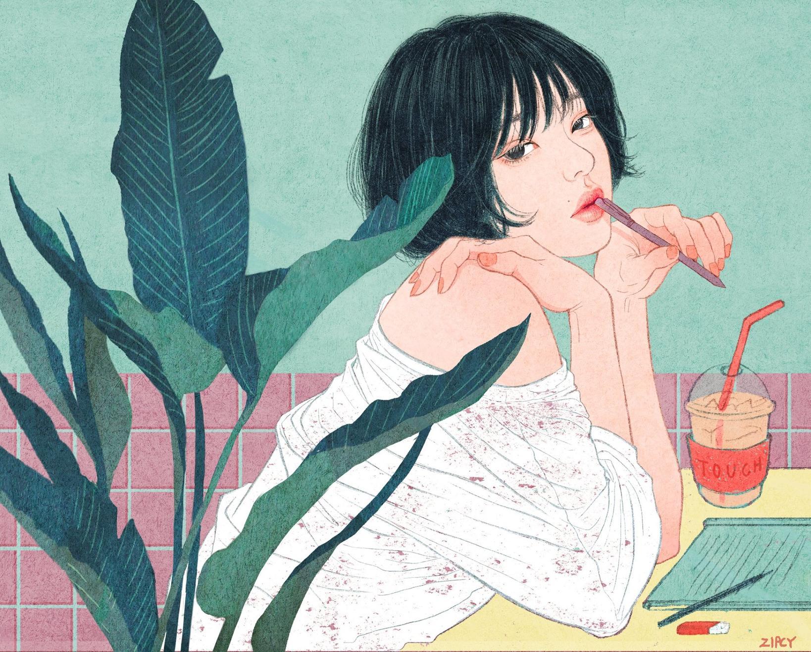 Корейский художник показал чувственную сторону любви. И это просто великолепно!.. Любовь спасет мир!
