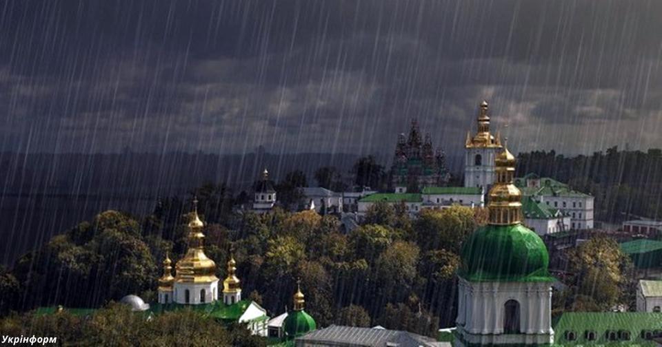 Лето все? В страну идут грозы и жесткое похолодание! Будет холодно и мокро!