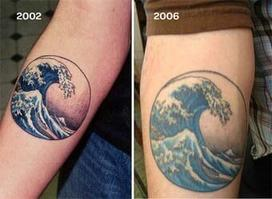 Планируете сделать себе татуировку? Это 21 фото показывает, как они будут выглядеть спустя годы А потом решайте сами.