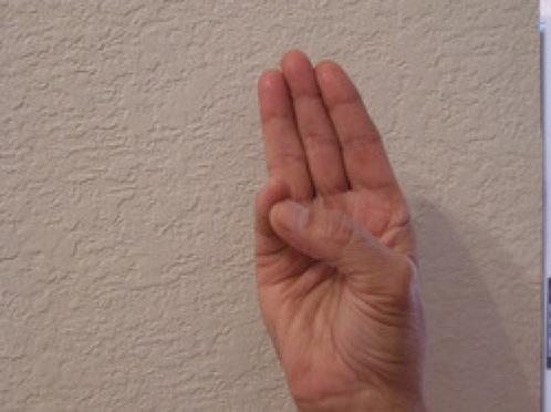 Вот что будет, если вы научитесь скрещивать пальцы вот так Фантастика, но работает.