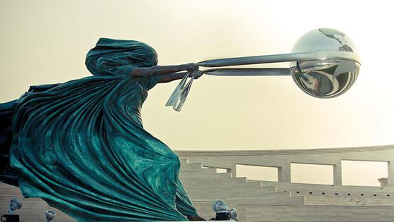 24 скульптуры, которым удалось бросить вызов законам физики Искусство, понятное всем.
