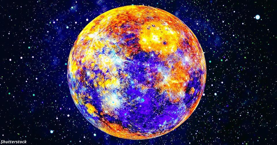 color planet mercury - HD1920×1080