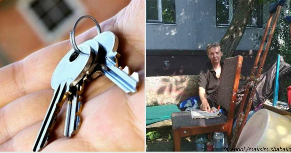 ″Живет на лавочке″. Женщину инвалида выгнали на улицу из собственной же квартиры Квартиру отдали сотруднику полиции.