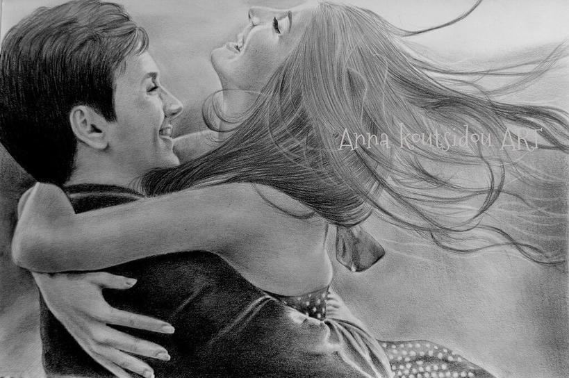 20 рисунков, которые доказывают: красоту любви можно передать даже карандашом Они взорвут вам мозг!