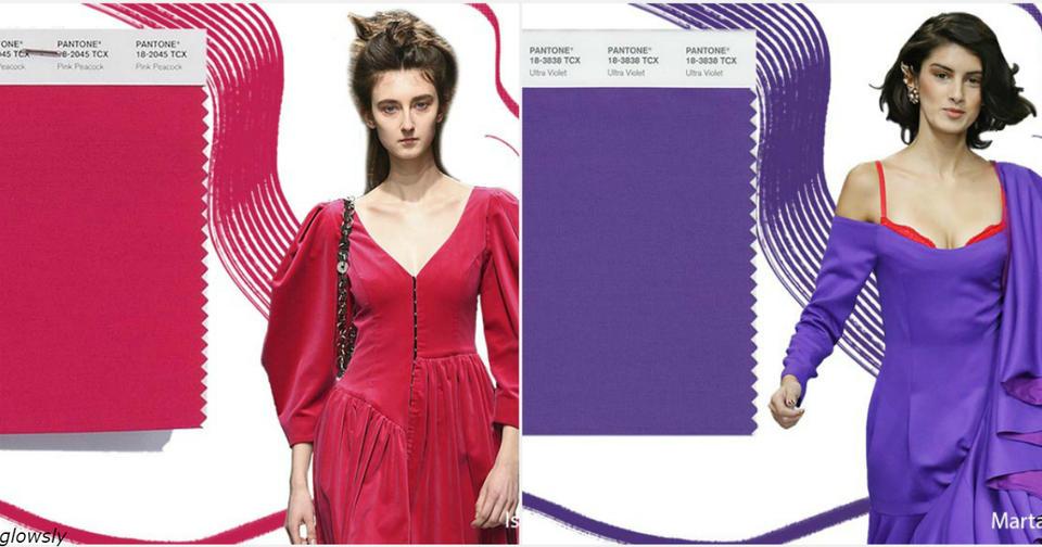 Вот какие цвета будут модными этой осенью. Какой вам нравится больше всего? Новые тренды.