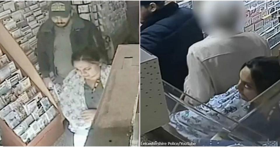 Эти двое обобрали 86 летнюю женщину   и у нее случился сердечный приступ! Возмутительное видео.