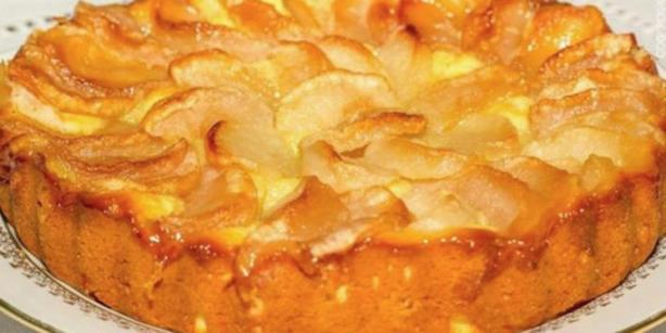 Из чашки йогурта можно приготовить яблочный пирог! Вот как Вкуснятина!
