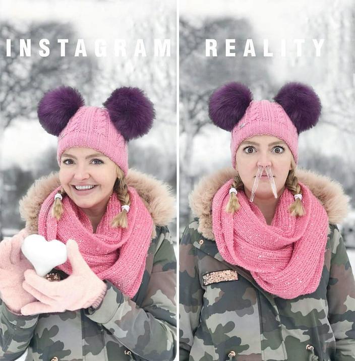 Instagram vs ″Жизнь″: Ее задолбали ваши ″идеальные″ фото - и она сделала свои! Круто!