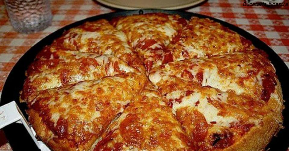″Пицца блин″: вы можете приготовить ее за 10 минут. Вот самый быстрый рецепт Все гениальное   просто!