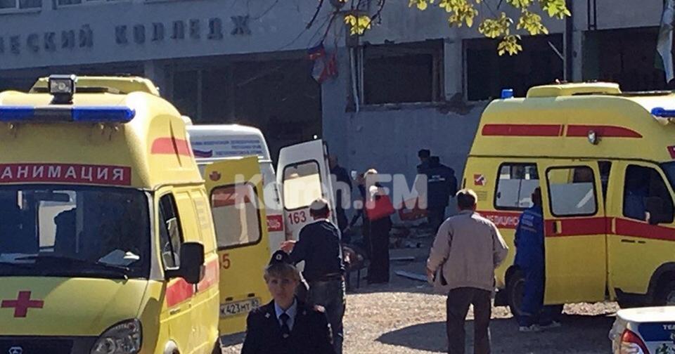 КРОВАВЫЙ взрыв со стрельбой: В Керчи случилось что то похожее на теракт 10 погибших, до 70 раненых...