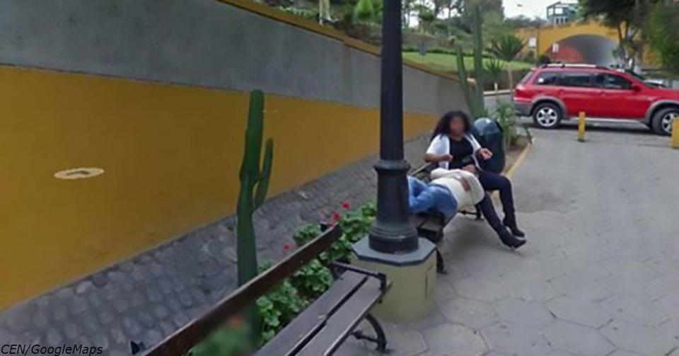 Фотография на Google Maps разрушила брак: Мужик увидел на ней жену с любовником Как же так, Google?