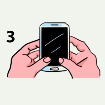 Как вы держите свой телефон прямо сейчас? Вот что это говорит о вашей личности Серьезно: почитайте.
