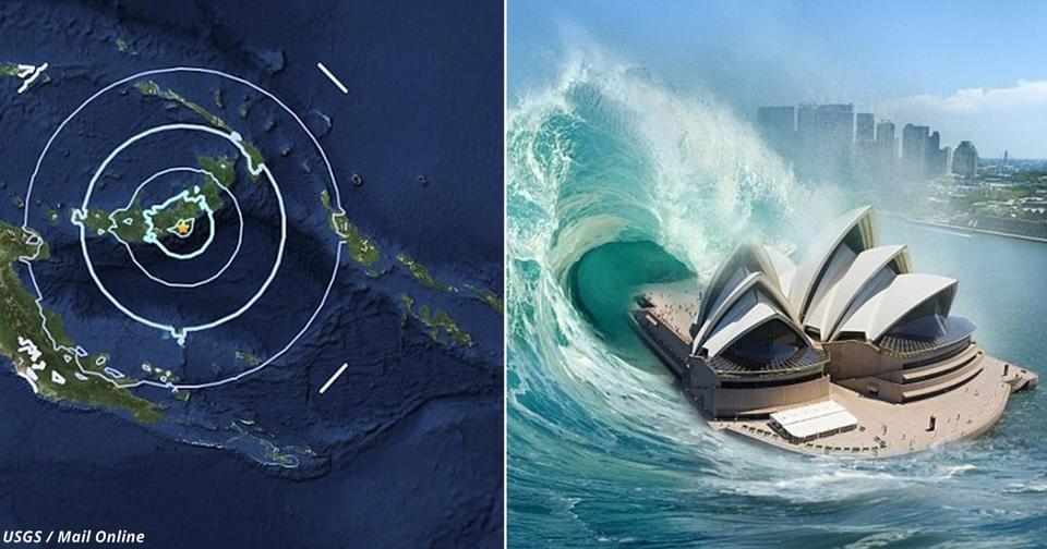Туристы в панике: Бали и Гвинею трясут землетрясения, Австралия   следующая Там уже ждут цунами.