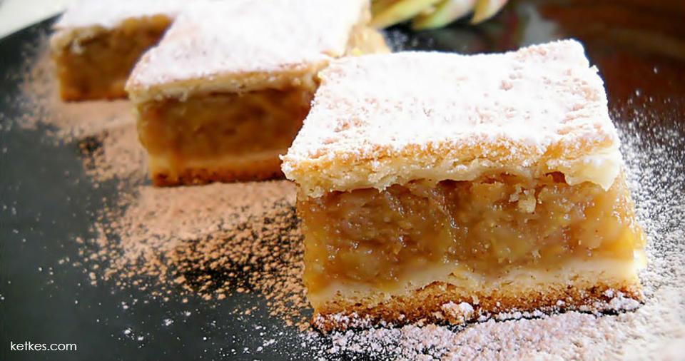 Рецепт яблочного пирога, который делала ваша бабушка. Сладкий вкус детства Нравится всем, без исключений.