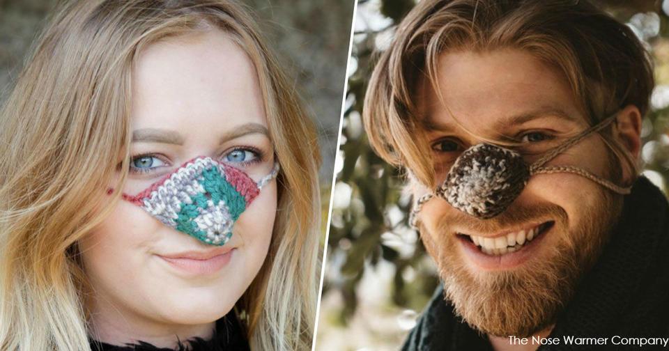 Специально для ″мерзляков″ придумали ″одежду″ для носа. И это отличный подарок! Спасение на осень и зиму.