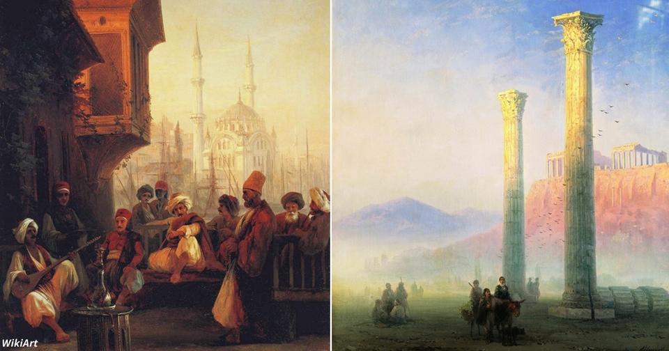 25 пейзажей Айвазовского, которые вам не показывали в школе Он писал не только море!