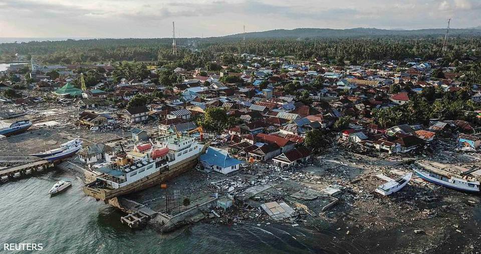 Вот ужасающие фото после цунами в Индонезии! Если это не конец света, то что?? Жуть.